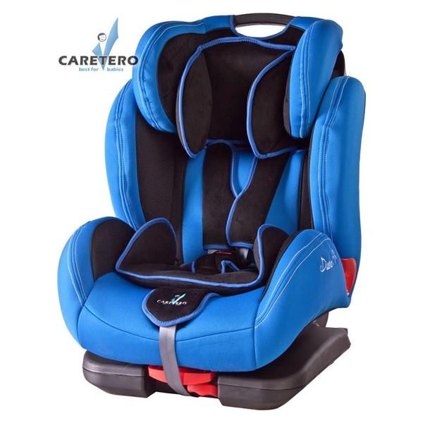 Autosedačka CARETERO DiabloFix s Isofix 2015 modrá