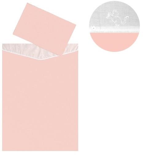 Dětské povlečení 2dílné Melisa Pink 130 x 90 cm ČR