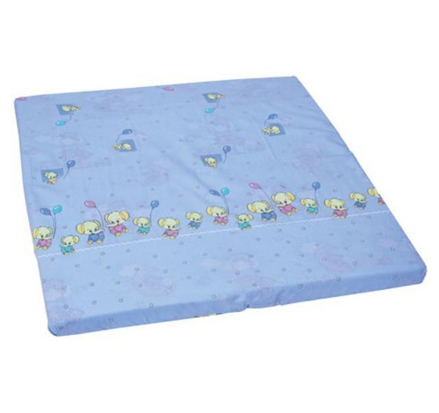 Hrací deka do ohrádky Péťa - SLON modrá