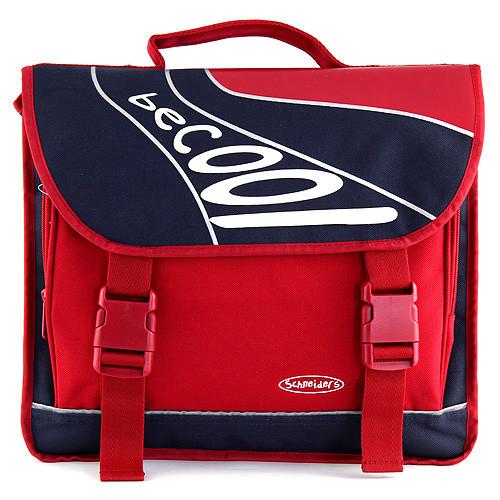 Školní taška BeCool - Modro-červená