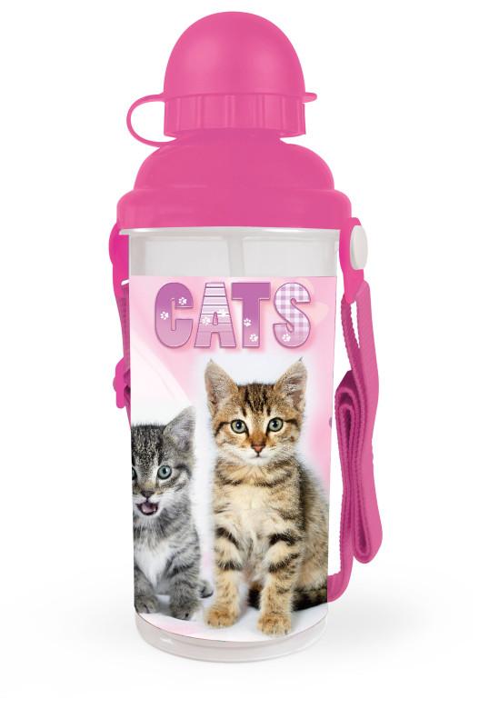 Láhev na pití Kočka 650 ml 2015