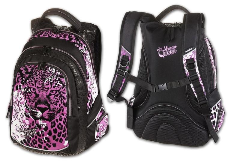 Studentský batoh African Queen Walker  95641bde27