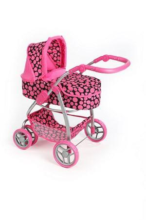 Kočárek pro panenky PlayTo Jasmínka růžový