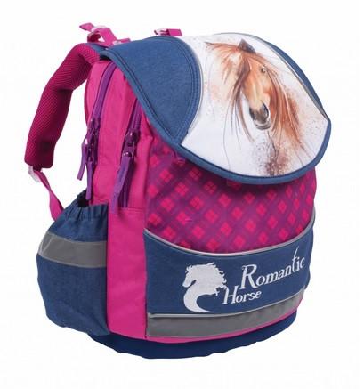 Anatomický školní batoh PLUS Kůň 2016