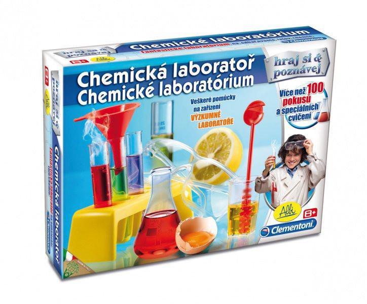 Albi - Chemická laboratoř nezobra