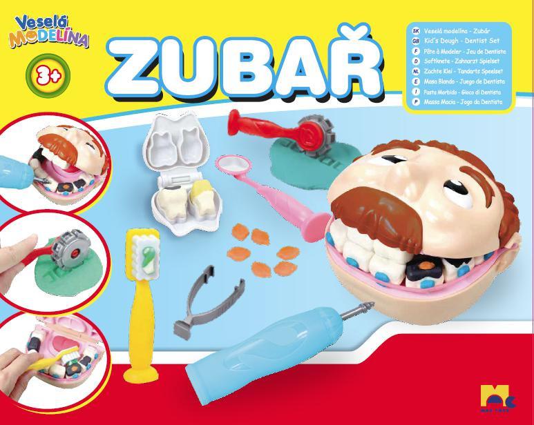 Zubař - modelínová sada