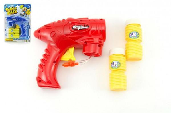 Pistole bublifuk plast 15cm