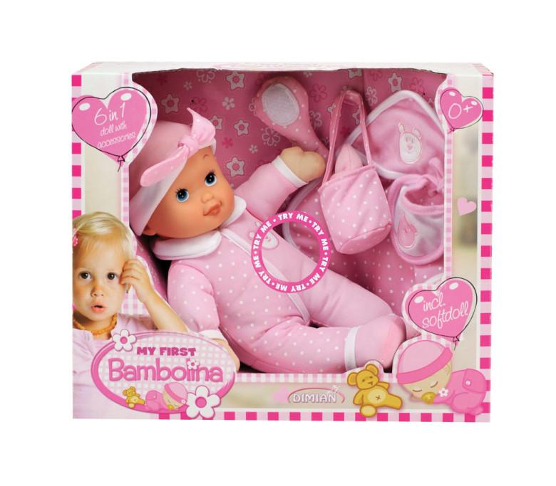 Panenka - moje první Bambolina se zvukem polibků - set