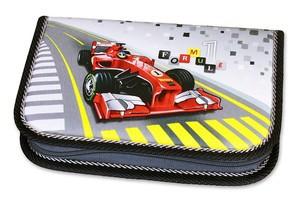 Školní pouzdro 1-klopa plné Formule Racing Emipo