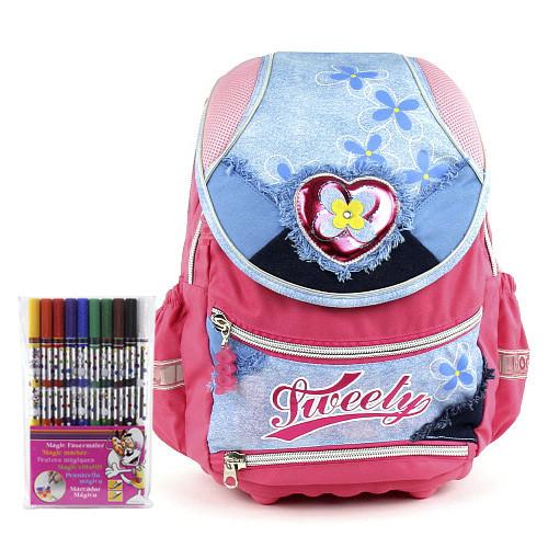 Školní batoh Cool set - fixy Diddl a batoh Cool Tweety
