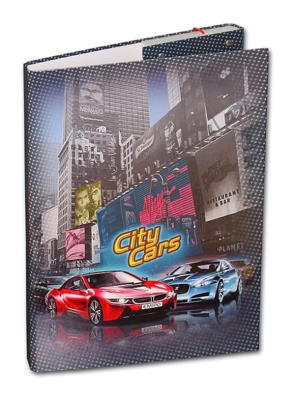 Desky na sešity Heftbox A4 City Cars Emipo