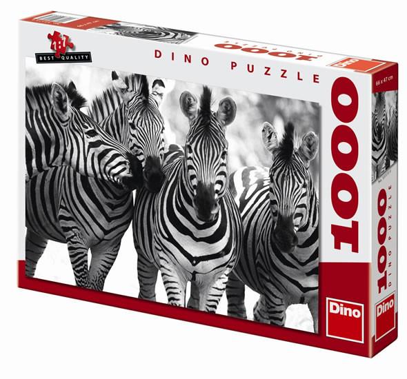 Puzzle Zebry 1000 dílků nezobra