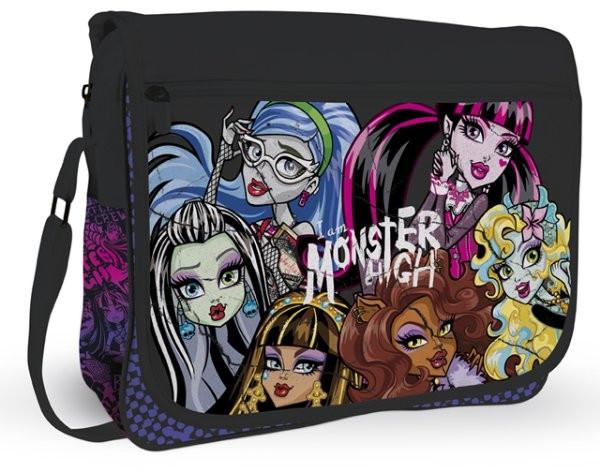 Taška přes rameno Clasic - na šířku Monster High
