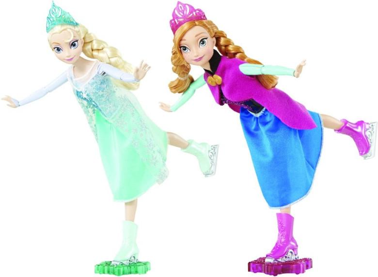 Mattel Disney bruslařka