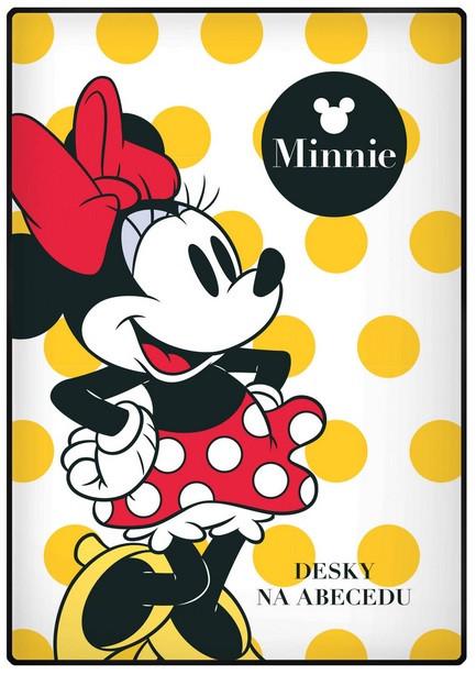 Desky na abecedu Minnie 2016 NEW