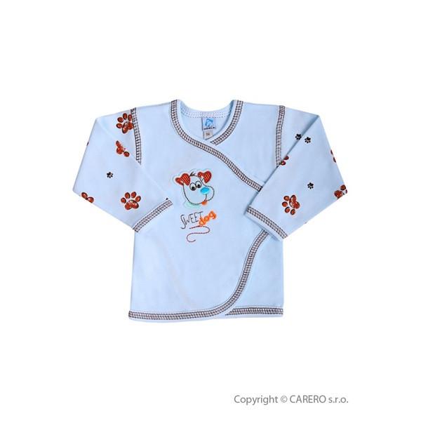 Kojenecká košilka Koala Rexík MODRÁ vel. 62