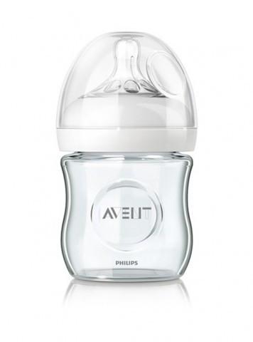 Skleněná láhev 120 ml Natural
