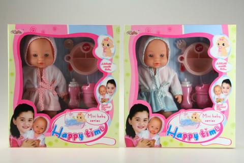 Panenka miminko čůrací s doplňky