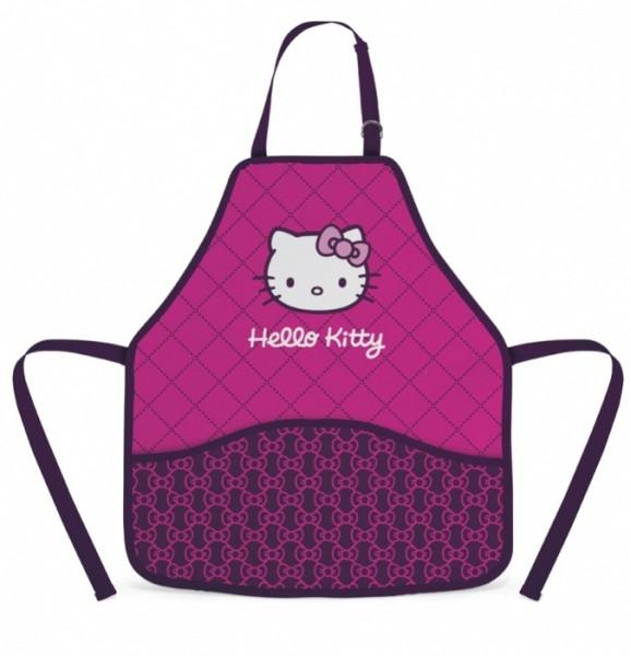 Zástěra do výtvarné výchovy Hello Kitty 2014 nezobra
