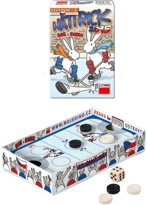 Hattrick 2015 Bob a Bobek společenská hra v krabičce