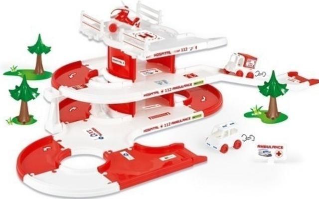 Kid cars 3D - nemocnice Wader