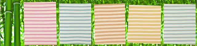Letní deka bambusová proužek 80 x 90 cm