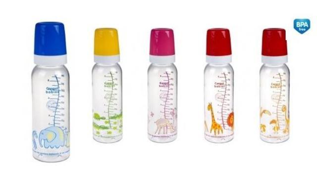 Láhev plastová s potiskem ZOO 250ml bez BPA