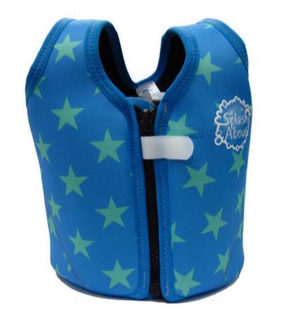 Dětská plavací vesta 1- 6 let hvězda modrá