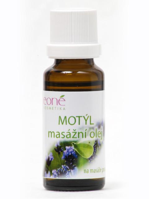 MOTÝL - masážní olej 20ml