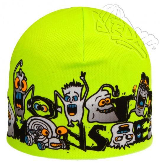 Funkční čepice jarní zelená neon příšerky RDX Vel. 4 (52 cm ... 5fa89cfda5
