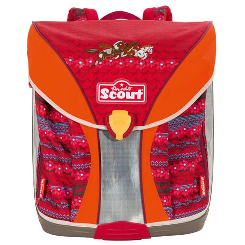 54dec89aa7b Školní batoh Scout - Tři koníci I.
