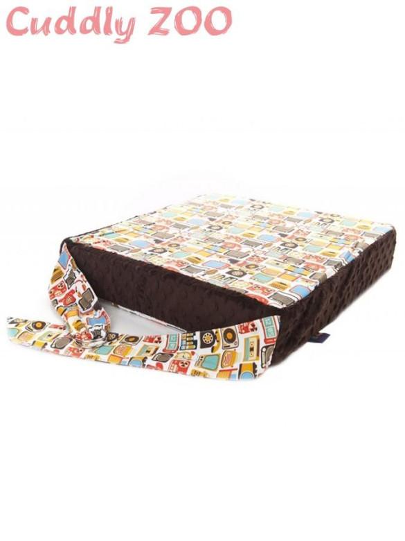 Dětský sedací polštář Cuddly Zoo - Dědeček hnědý