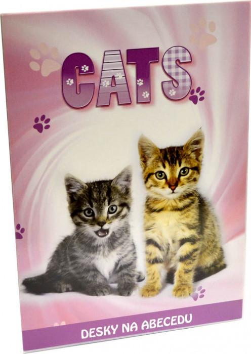 Desky na abecedu Kočka 2015