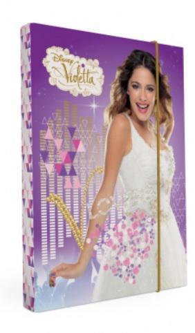 Desky na sešity Heftbox A4 Violetta