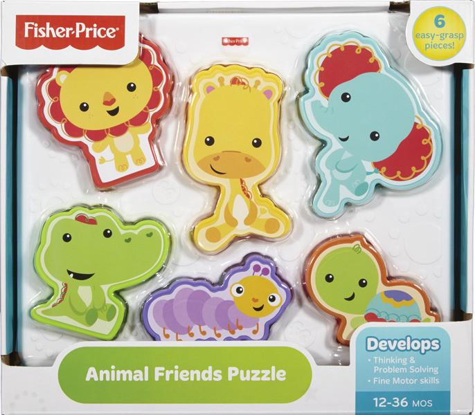 Fisher Price puzzle se zvířátky