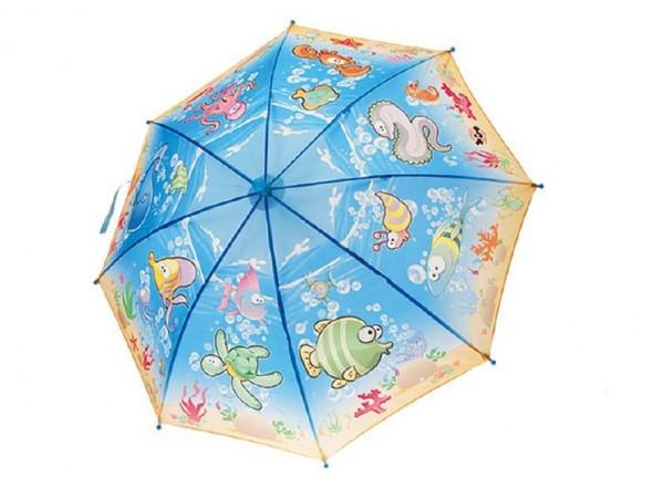 Deštník mořský svět vystřelovací