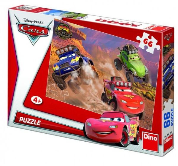 Puzzle Cars 32,3x22cm 66 dílků v krabici 33
