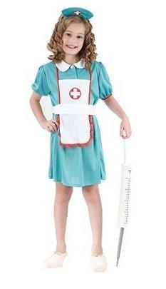 Karnevalový kostým - Zdravotní sestřička 120-130 cm