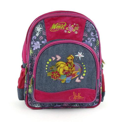 Školní batoh Winx Club - Víla Stella - Love Jeans - modrý