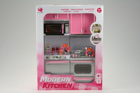 Moderní kuchyně baterie - se sporákem
