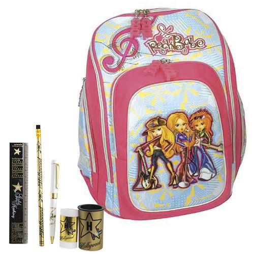 Školní batoh Cool Cherry set - 6dílná sada - RockBabe Hollywood ... cd2042ead9