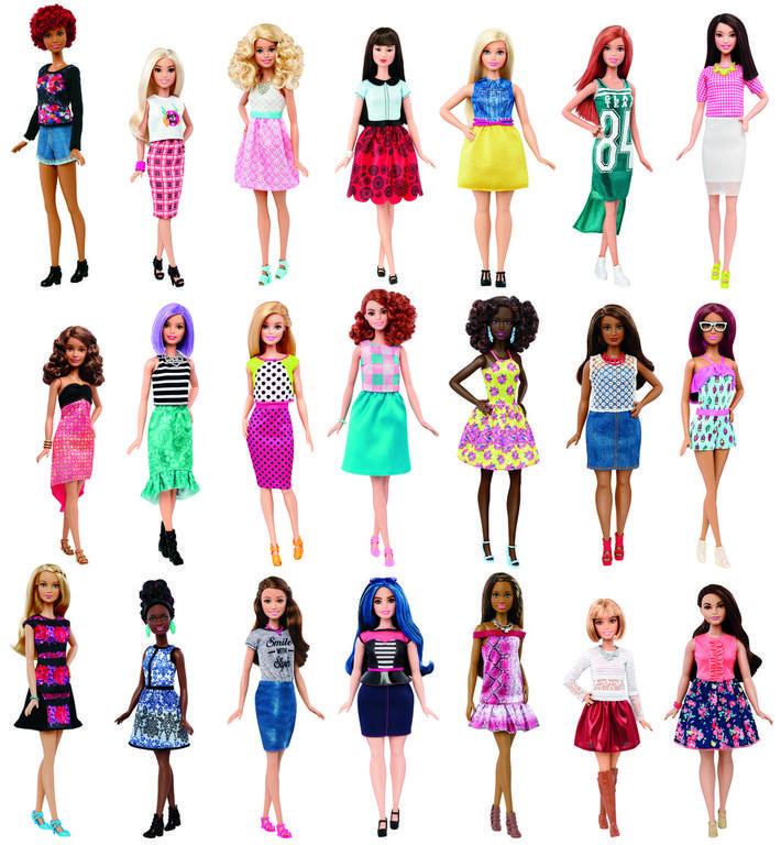 Barbie modelka DGY54