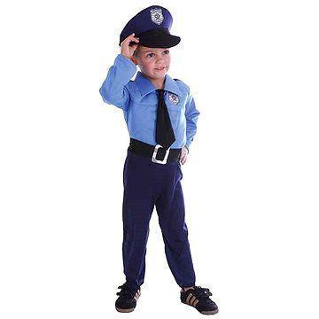 5c0d87e87 Dětský kostým na karneval - Policista 92-104 cm | Nejbaby.cz