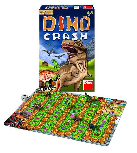Dino Crash společenská hra