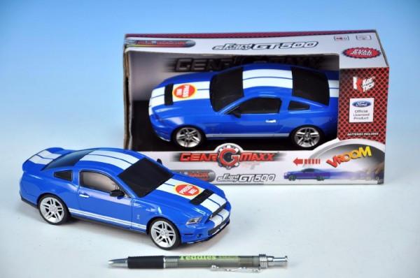 KMS Auto Ford GT500 kov 17cm 1:26 na zpětné natažení na baterie se zvukem se světlem nezob
