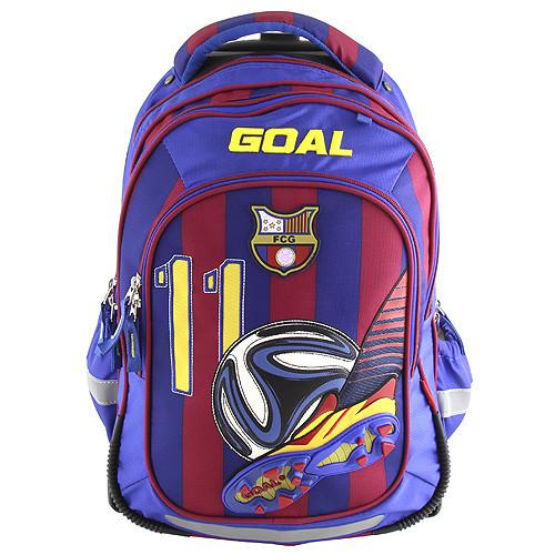 Školní batoh trolley Goal - 3D kopačka s fotbalovým míčem - číslo 11