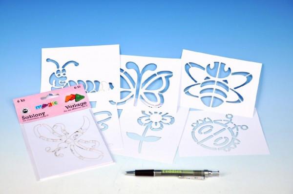 Šablony na malování voskovky magické - LÉTO