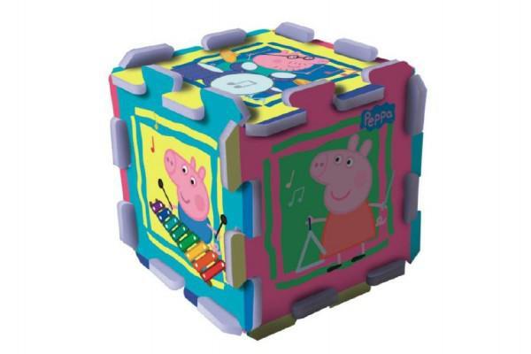 Pěnové puzzle Peppa Pig 32x32x1cm