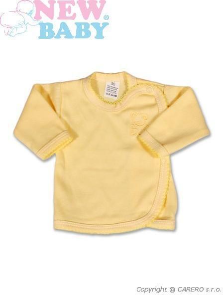 Kojenecká košilka New Baby Classic vel. 50 žlutá