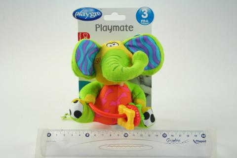 Šustící slůně s kousátky Playgro